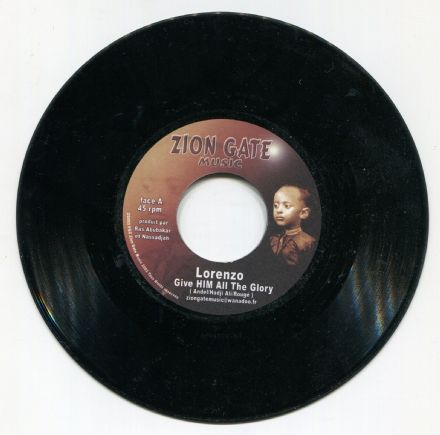Lorenzo - Give HIM All The Glory / Prions Jah Version (Zion Gate Music)